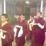 Buddhistische Klosterschüler (Foto: Birgitt Morrien. Darjeeling 2012)