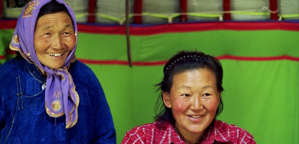Die Vorzüge des Alters (Foto: Birgitt Morrien. Mongolei 2007)