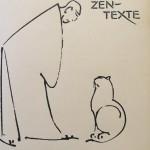 Sich verneigen (Zeichnung: K. Bertelsmann)