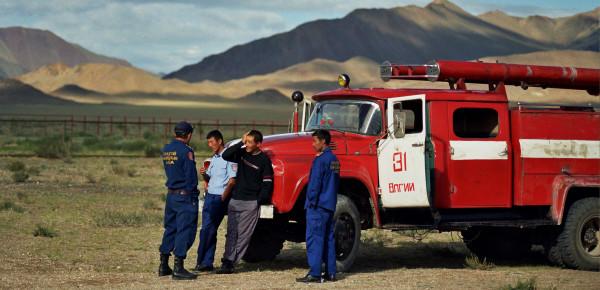 Hilfe am Wendepunkt. (Foto: Morrien. Mongolei 2007)