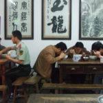 Gemeinschaft ohne Fernsehen. (Motiv: China. Foto: Morrien)