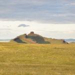 Archaische astronomische Anlage. (Foto: Morrien / Location: Sibirien)