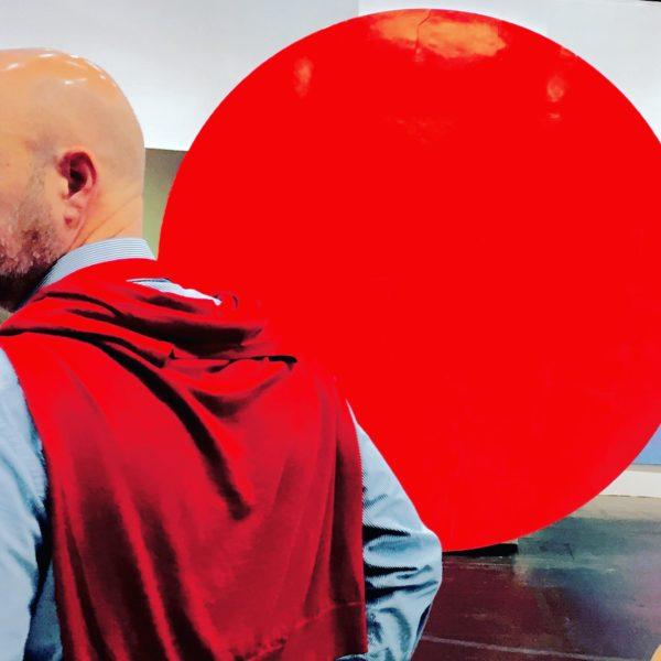Nicht gleich rot sehen (Foto: Morrien / Motiv: Art Cologne 2017)
