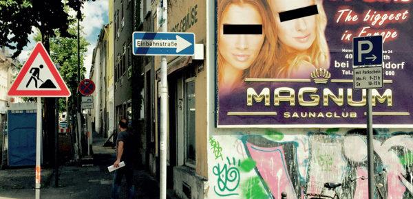 Überall zu finden. Hier: Köln-Nippes. Die Augenbalken stammen von der Blogredaktion.
